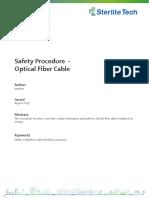 Safety_Procedure-Optical_Fibre_Cable
