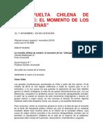 La revuelta chilena de Octubre