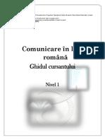comunicare lb romana