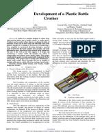 Design and Development of a Plastic Bott