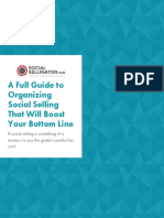 A Full Guide to Organizing Social Selling That Will Boost Your Bottom Line