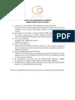 PROCEDIMIENTO TERMINACION DE CONTRATOS