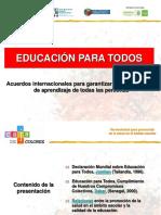Educación para todos.ppt
