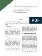 Medição de Tensões Laterais Com PZT - Aplicação Ao Pé