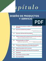 Diseño de productos y servicios, gestión de operaciones