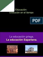 1.2. Educación en el tiempo