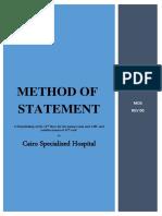 Method of Statement Forroof Demolish