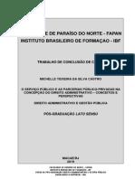 scribd TCC - Serviço Público e Parcerias Público-Privadas na concepção do Direito Administrativo