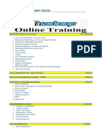 Hadoop Training Course Contents 1