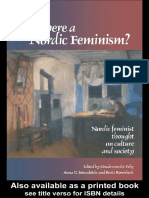 Drude Fehr - Is There a Nordic Feminism__ Nordic Feminist Thought on Culture and Society (Gender, Change & Society) (1998)
