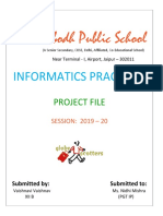 IP project vaishnavi vaishnav class 12