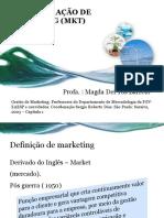 ADMINISTRAÇÃO DE MARKETING (MKT) - Profª Magda de Tóis