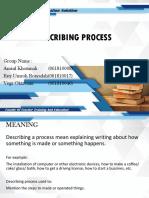Describing Process