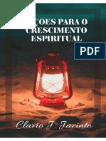 Lições Para o Crescimento Espiritual