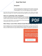 Email Marketing Planning Template-1