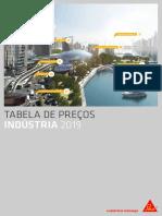 Sika Tabela Preços Industria 01.02.2019