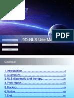 9D-NLS Use Manual(Training)
