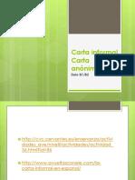 DELE Carta informal