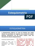 Estequiomtria
