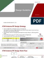 4T4R Antenna RF Design Guideline