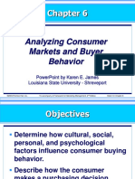 Kotler 6-Analyzing Consumer Markets and Buyer Behavior