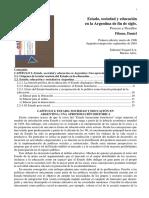 3- FILMUS - Estado Sociedad y Educacion en la Argentina