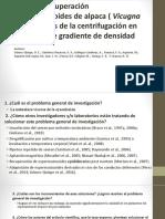 MOTILIDAD Y RECUPERACIÓN DE ESPERMA DE ALPACA