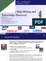 ERP Centric Data Mining