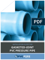 Gasket Joint PVC Pressure Pipe - Uni-Bell