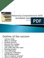 Enhancing Comprehension Skills