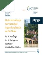 Tag 03 Allogene Stammzelltransplantation unf Immunologie - Häma
