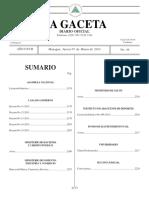 La Gaceta – Diario Oficial – N° 44 del 7 de marzo de 2013 – La Gaceta