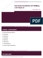 ADMINISTRATION AND SCORING OF VERBAL COMPONENTS OF WAIS.pptx