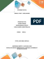ECONOMÍA POLÍTICA  UNIDAD 3