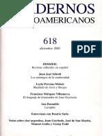 Cuadernos Hispanoamericanos 618