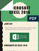 Microsoft Excel 2016 Conceptos Basicos 1