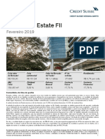 Relatorio CSHG Real Estate FII 2019 02