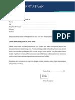 Surat Pernyataan Bebas Plagiasi.docx