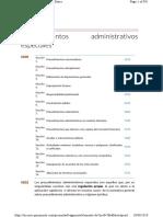 6. Procedimientos Administrativos Especiales