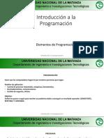 Introduccion a La Programacion (parte 1)