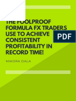 The Simple Consistent FX Profits Formula