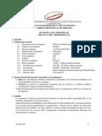 Silabo-Practicas Pre Profesionales II