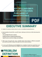 Research on consumer behaviour in mobiles