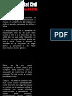 Derecho Civil III - Responsabilidad Civil Derivada de La Falta