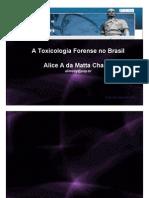 Toxicologia Forense Brasil Alice