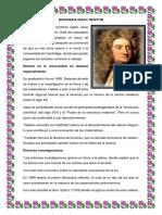 Biografia Isacc Newton