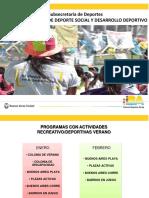 Plazas Activas Verano 2020