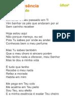 Minha Essência - Thiago Brado
