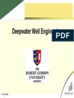 Deepwater Well Engineering