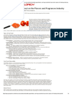 Sigma Aldrich Article - Food Fraud - Flavors and Fragances